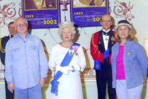 Ильинский И.М. и Королева Елизавета II